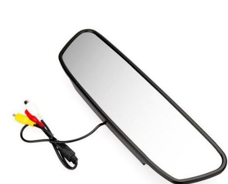 Monitorius- galinio vaizdo veidrodėlyje